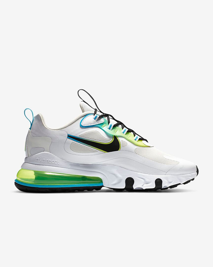 Air Max 270 React WW White Black Blue Fury Volt CK6457-100