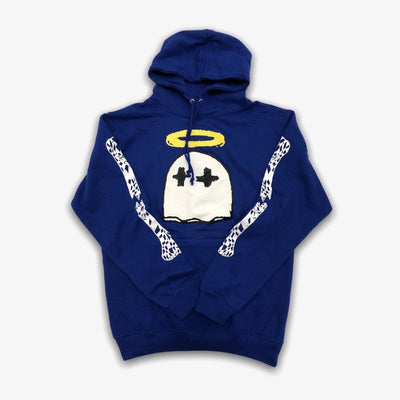 B Wood Gooney Saint Ghost hoodie Royal