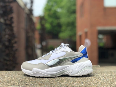 Puma Womens Thunder Electric Puma White Gray Violet 367998-02