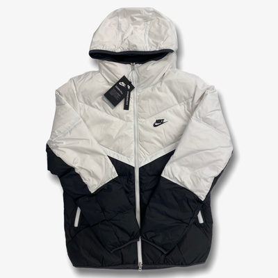 Nike Sportswear Down-Fill Windrunner White Dark Smoke Grey Black CU4404-100