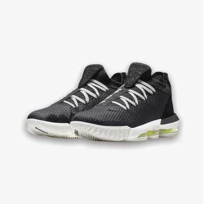 Nike Lebron XVI Low Black Summit White Volt CI2668-004