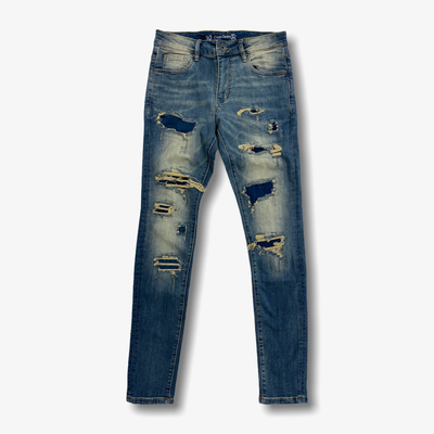 Crysp Atlantic Denim Indigo Jeans