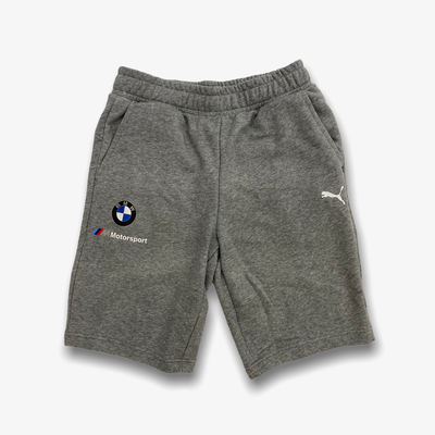 Puma BMW MMS ESS Sweat Shorts Heather Grey 599532-03