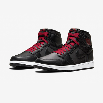 Air Jordan 1 (GS) Retro High OG black gym red black white 575441-060