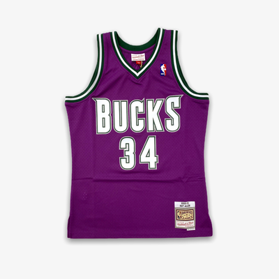 Mitchell & Ness NBA Swingman Road Jersey Bucks 00 Ray Allen