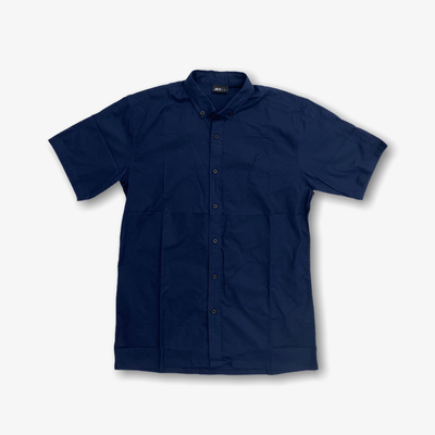 Publish Index S/S Button Up Navy
