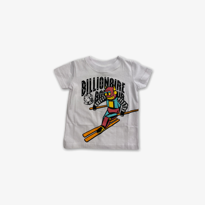 BBC BB Sloped SS T-shirt White Kids