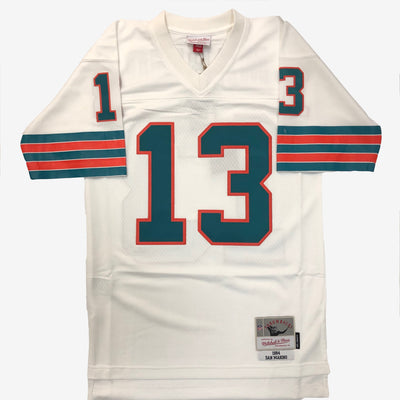 Mitchell & Ness NFL Legacy Dolphins Jersey 84 Dan Marino white