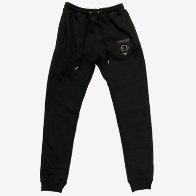 Sneaker Junkies classic logo sweatpants Black
