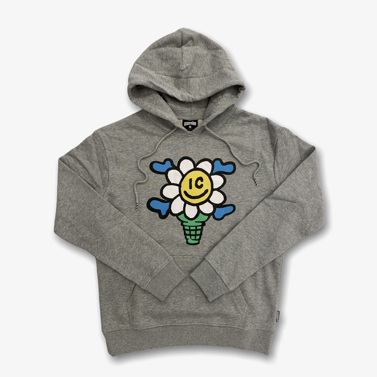 Ice Cream Polar Caps Hoodie Heather Grey