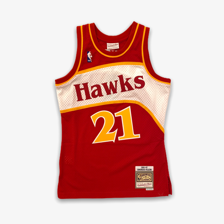 Mitchell & Ness NBA Swingman Jersey Hawks 1986 Dominique Wilkins