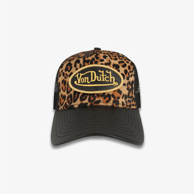 Von Dutch PONY HAIR TRUCKER Leopard