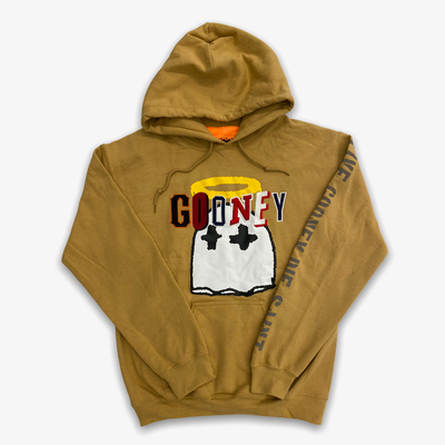 B Wood Gooney Ghost Hoodie Tan