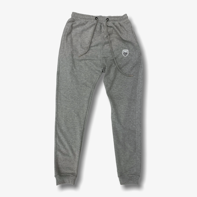 Sneaker Junkies Classic Patch Logo Sweatpants Grey