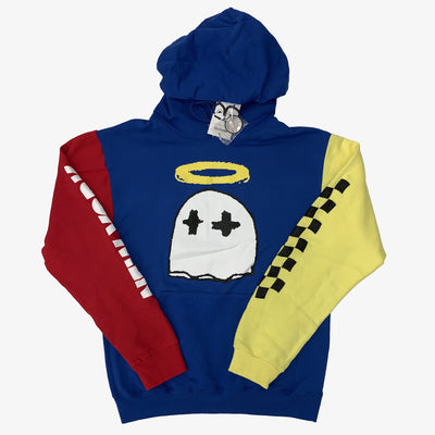 B Wood Gooney Saint Ghost Tri-Color Hoodie