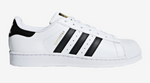 Adidas Superstar White Black Gold C77124