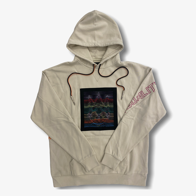 Cult of Individuality Pullover Sweatshirt Hoodie Cream
