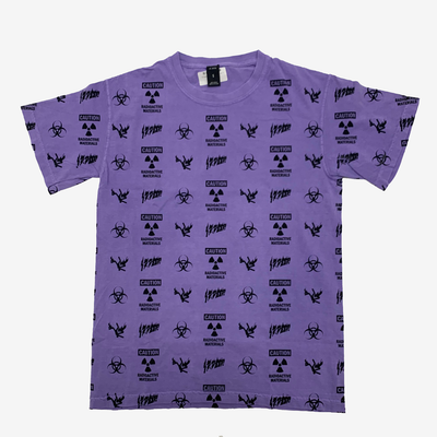 10 Deep Noxious Fumes SS T-shirt Purple