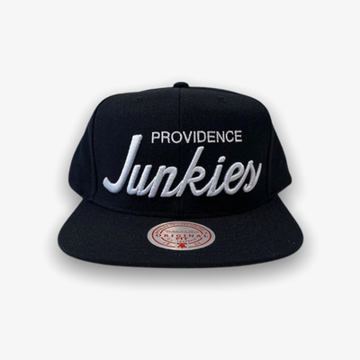 Mitchell & Ness X Providence Junkies Snap Back Black