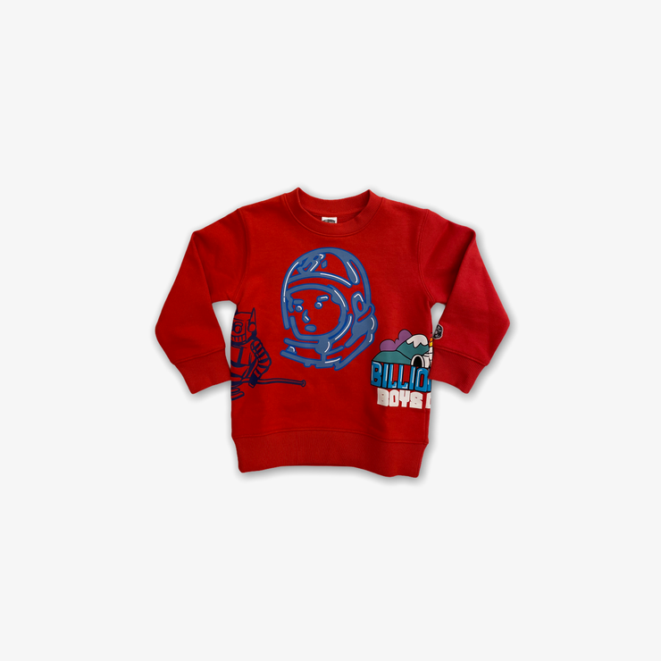 BBC BB Igloo Crewneck Hibiscus Kids
