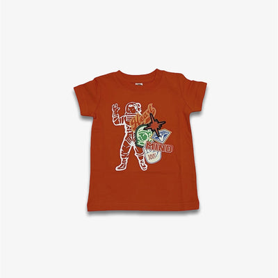 BBC Kids BB MVP Astronaut Tee Red Orange