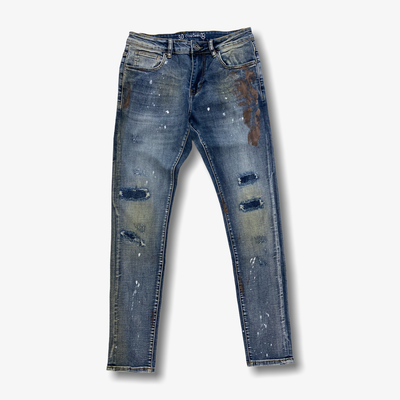 Crsyp Atlantic Denim Blue Jeans