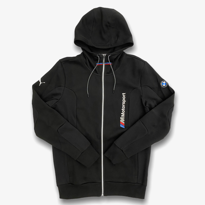 Puma BMW MMS Hooded Sweat Jacket Black 599520-01