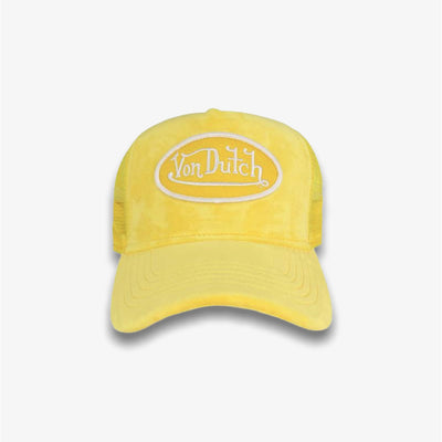 Von Dutch VELVET YELLOW TRUCKER