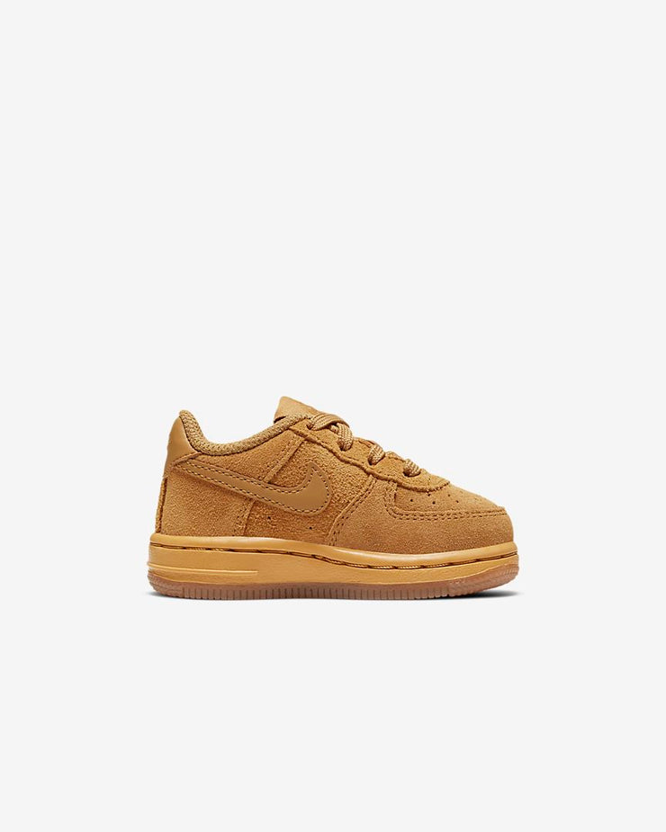 Nike Force 1 LV8 3 TD Wheat Gum Light Brown Toddler Sizes BQ5487-700