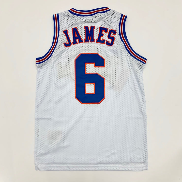 Headgear Tune Squad James Basketball Jersey White