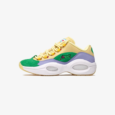 Reebok x Ice Cream Question Low Filtered Yellow Lilac Glow White FZ4345