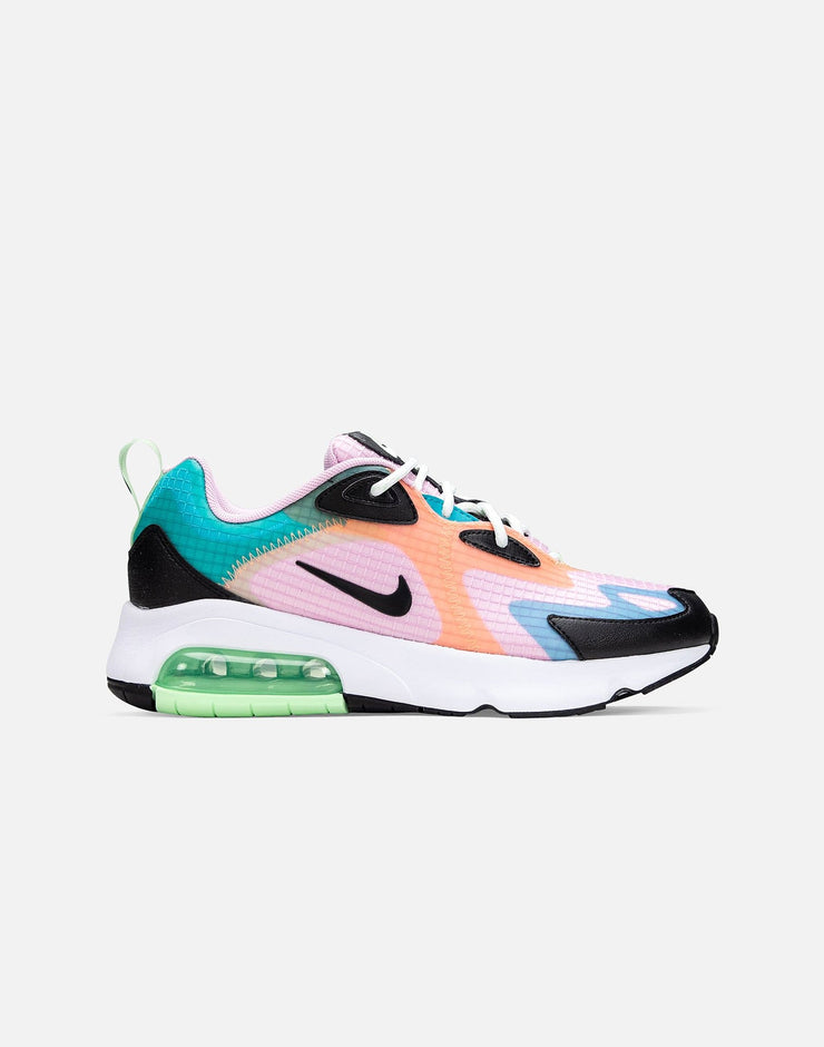 Nike Women's Air Max 200 SE Light Arctic Pink Black Rose CJ0630-600