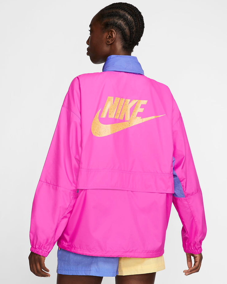 Nike Women's Icon Clash Jacket Fire Pink CJ2289-601