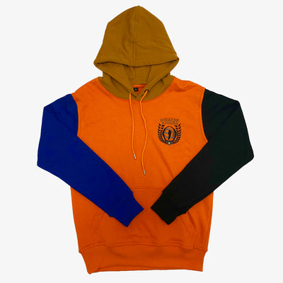 Sneaker Junkies Classic Logo Multi color Hoodie Orange