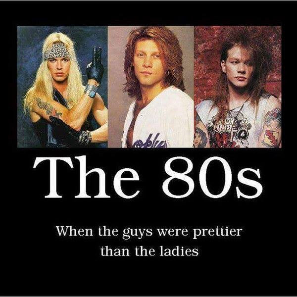 ENCORE MY FRIENDS!! The 80's!!