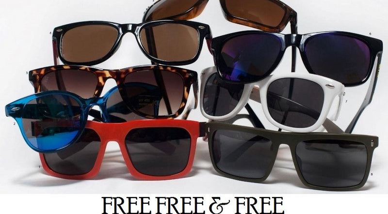 FREE SUNGLASSES - NO PURCHASE REQUIRED!!