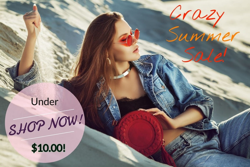 Crazy Summer Sale, under 10!