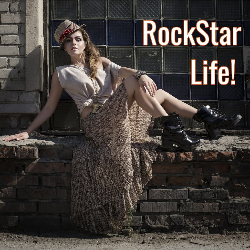 Vintage Rock Star Inspired Fashions at DSV #fashion #vintage
