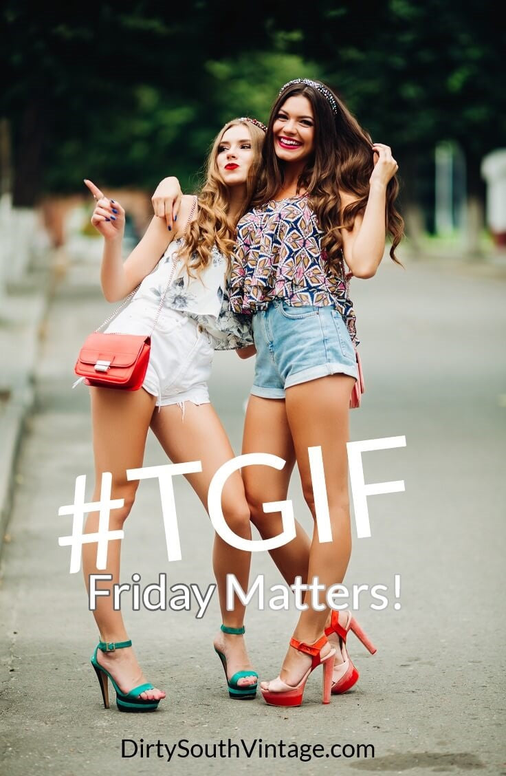 TGIF thanks god it's friday! Friday matters! DSV Rocks Friday with you!
