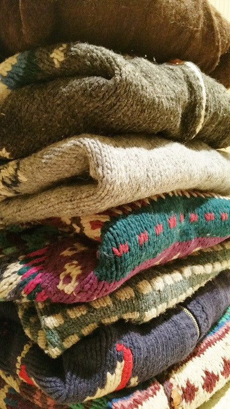 Warm Wool!! Mystery Wool Sweaters, All Styles & Sizes!!