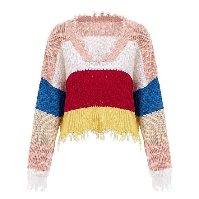 Somewhere over the rainbow sweaters look like candy & life is perfect!