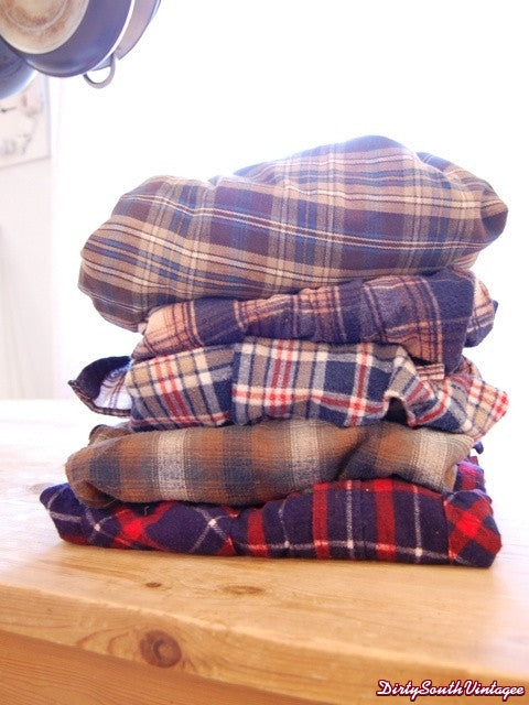 Unisex Mystery Flannel Shirts - All Sizes & Styles!