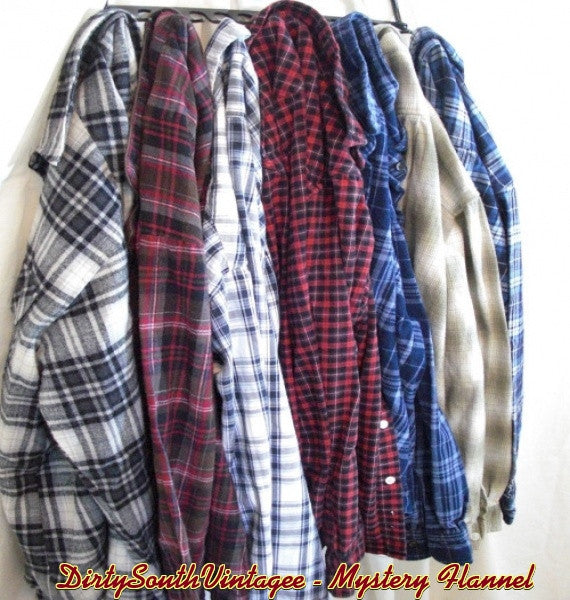 Mystery Unisex Flannel Shirts