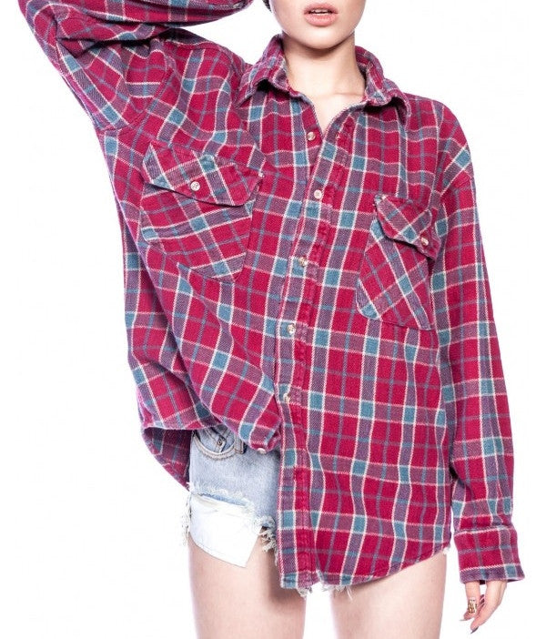 Vintage Soft Worn Flannel Shirts, Mystery Flannels, All Colors & Sizes!!