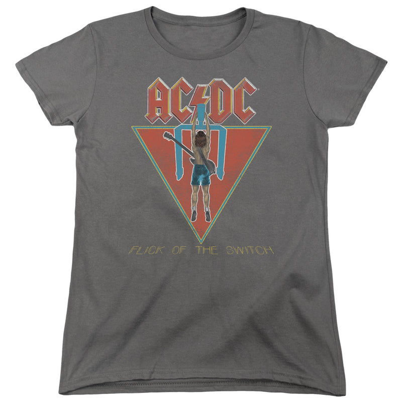 Acdc - Flick Of The Switch Short Sleeve Women's Tee