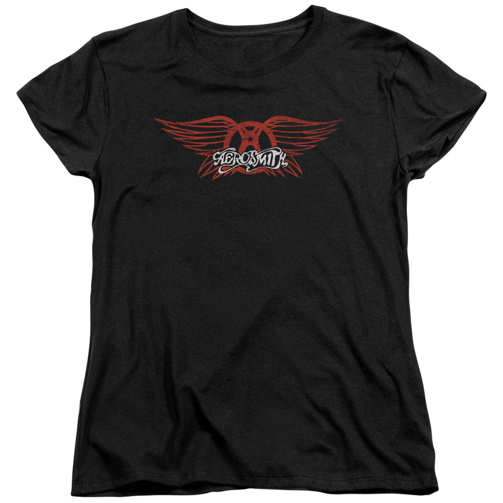 Aerosmith - Winged Logo Short Sleeve Women's Tee