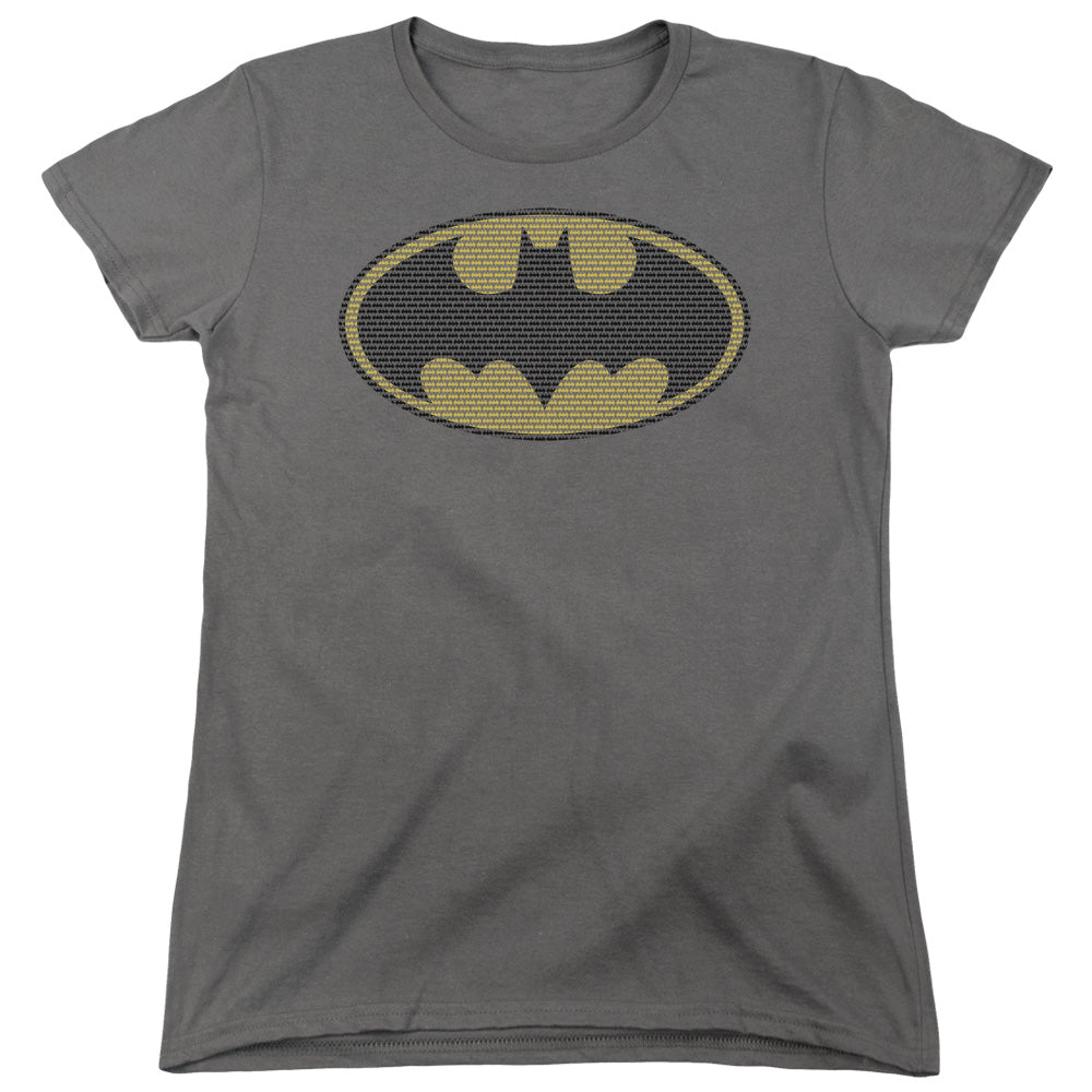 Batman - Little Logos Short Sleeve Women's Tee