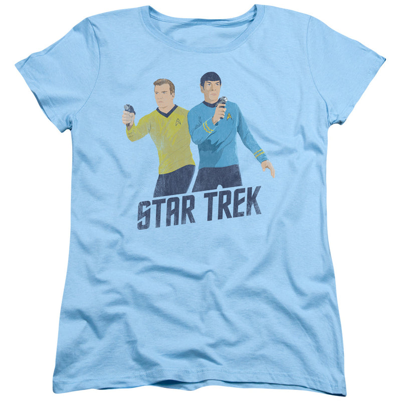 Star Trek - Phasers Ready Short Sleeve Women's Tee