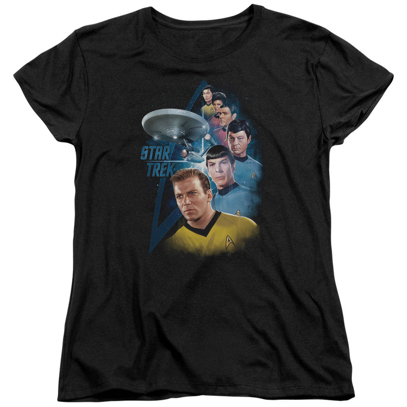 Star Trek - Among The Stars Short Sleeve Women's Tee