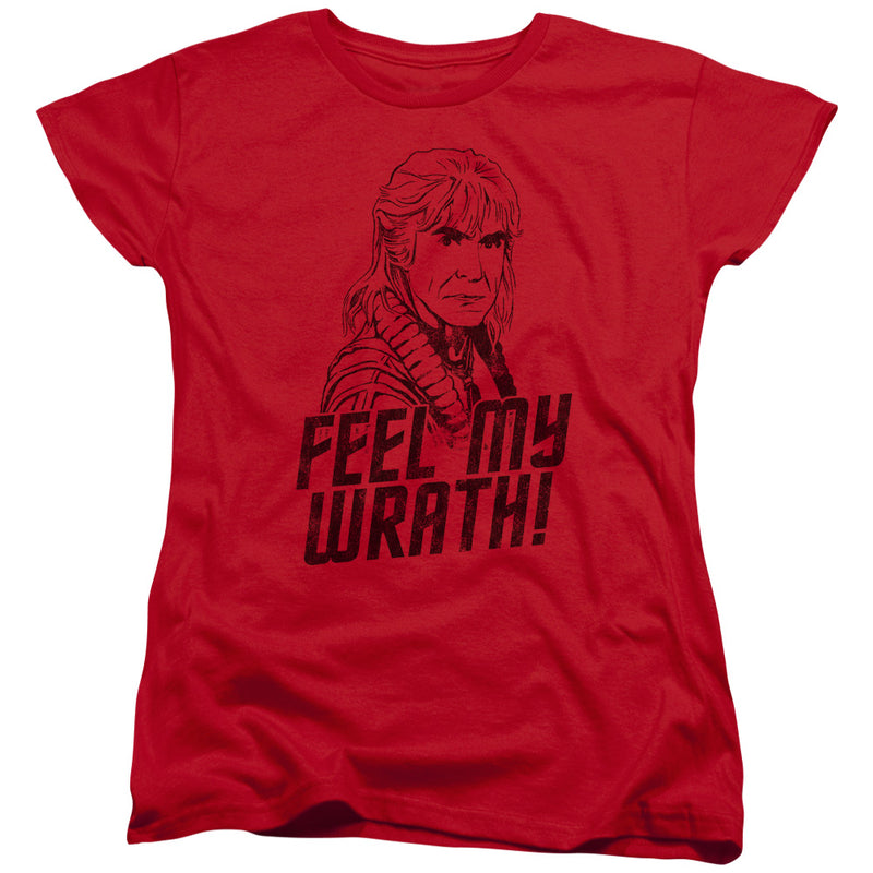 Star Trek - My Wrath Short Sleeve Women's Tee